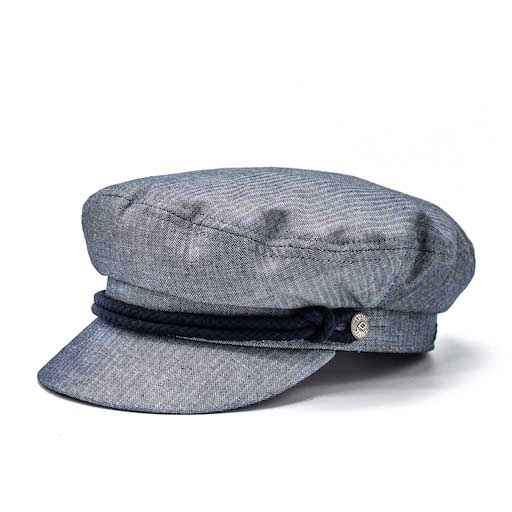 Brixton Fiddler Cap Smoke Blue