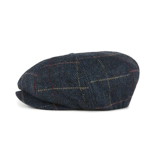 Brixton Lil Brood Snap Cap Navy Plaid