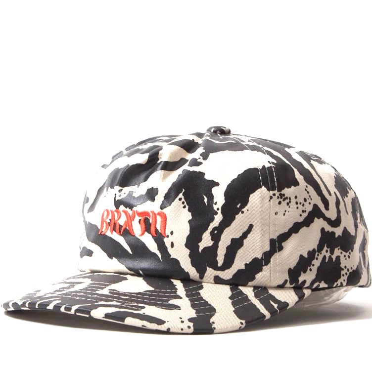 Brixton March LP Cap Black Bone
