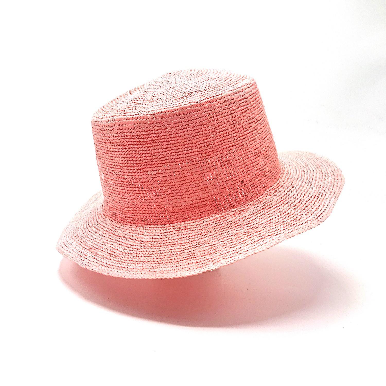 Ecua-Andino Hippie Raffia Pink