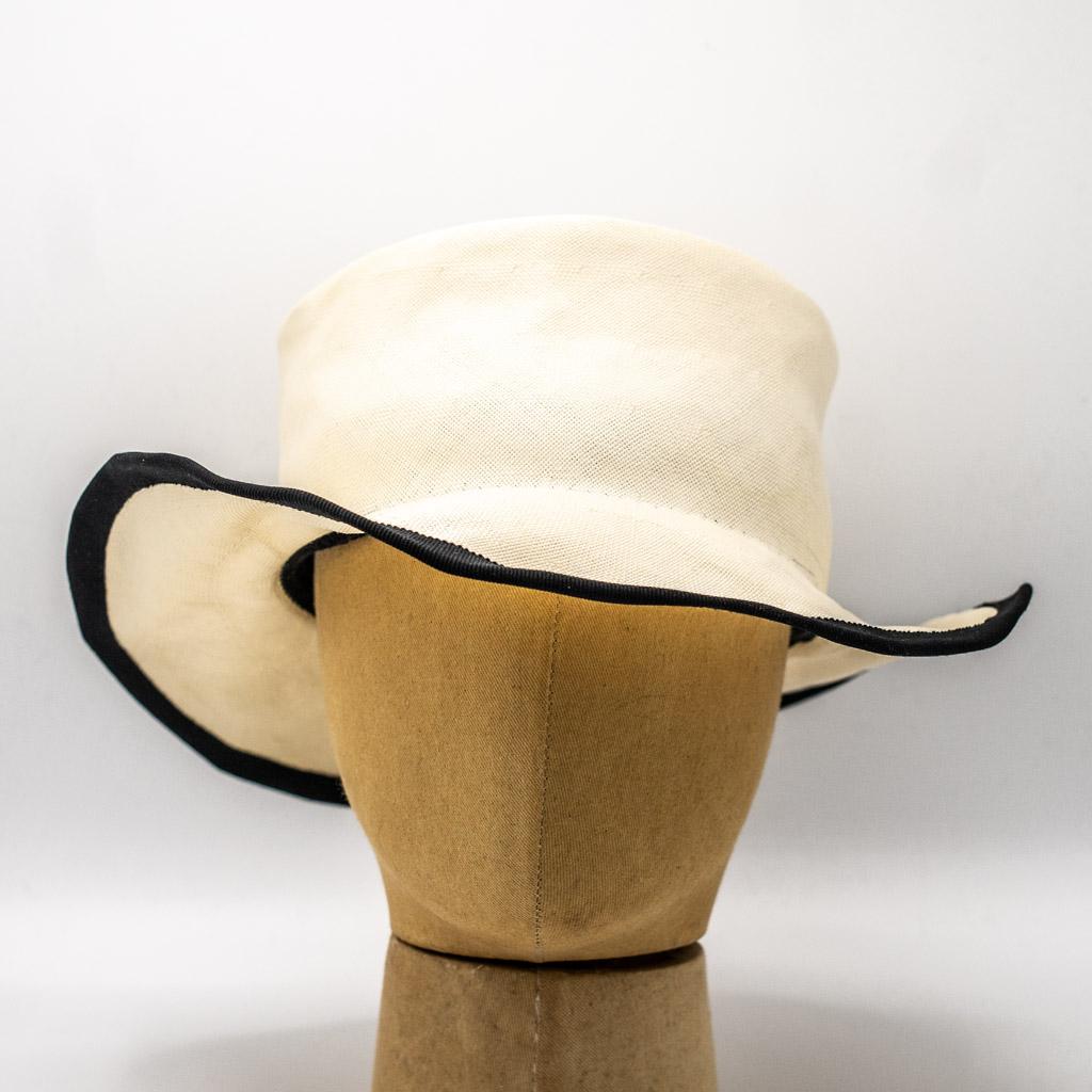 Horisaki Straw SHAD007 White