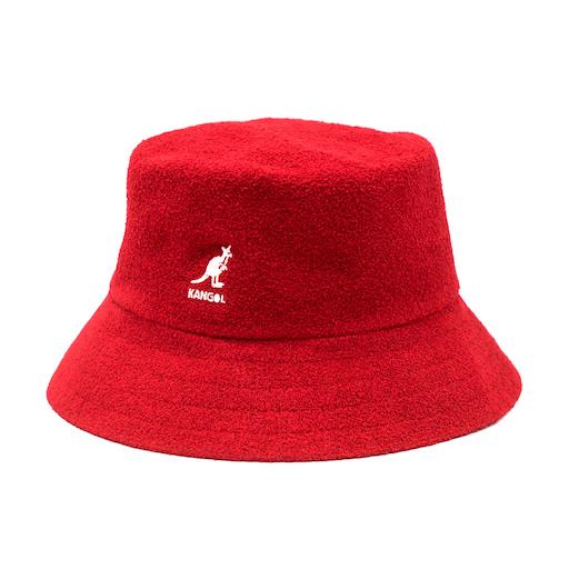 Kangol Bermuda Bucket Scarlet