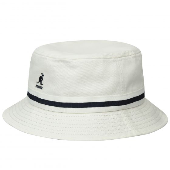Kangol Stripe Lahinch White