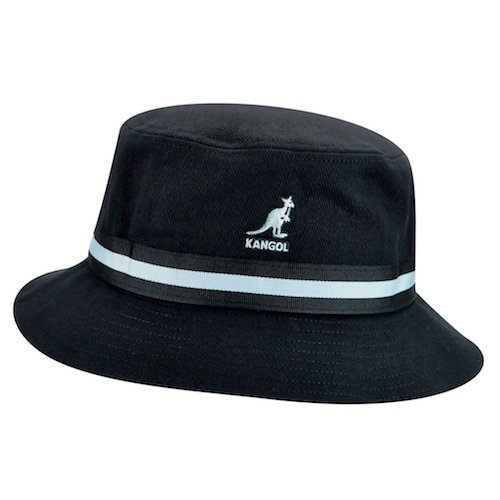 Kangol Stripe Lahinch Black