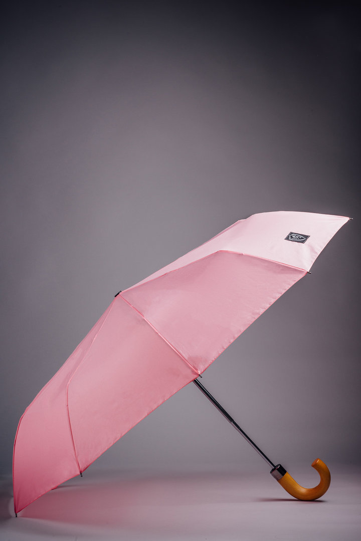 Rain & Son Paraply Foldable Pink