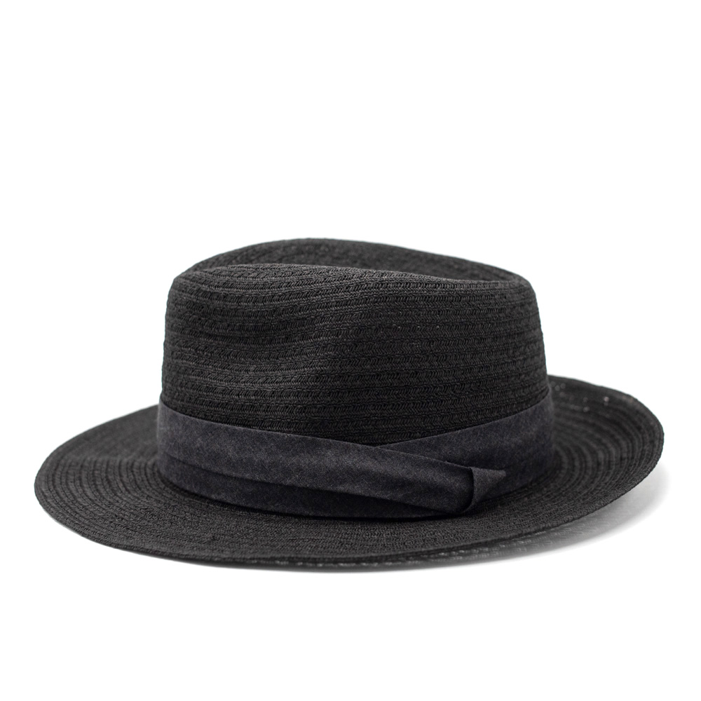 Seeberger Fedora Bogart Black