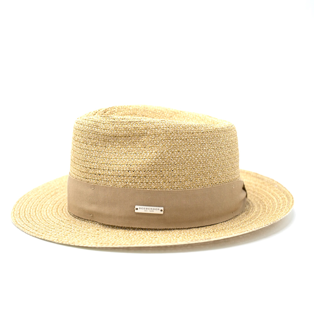 Seeberger Fedora Bogart Natural