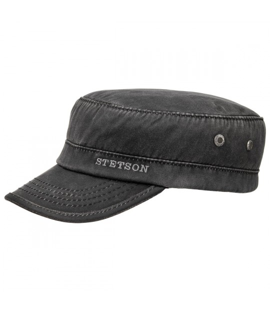 Stetson Army Cap Waxed - Flera färgval