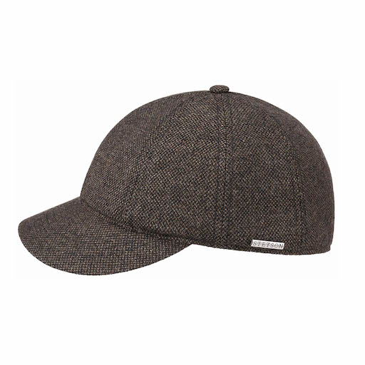 Stetson Baseball Cap Wool Brown