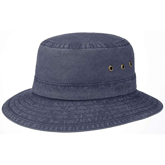 Stetson Bucket Delave Cotton Blue