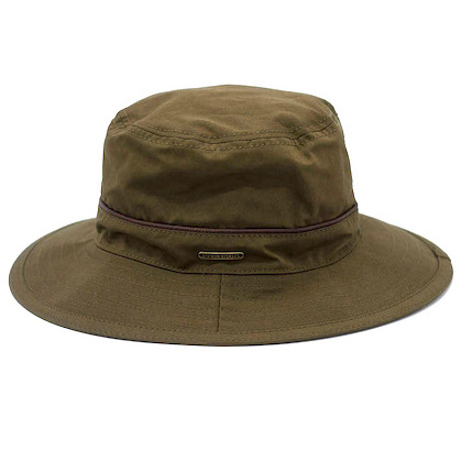 Stetson Bucket Waxed Cotton Olive
