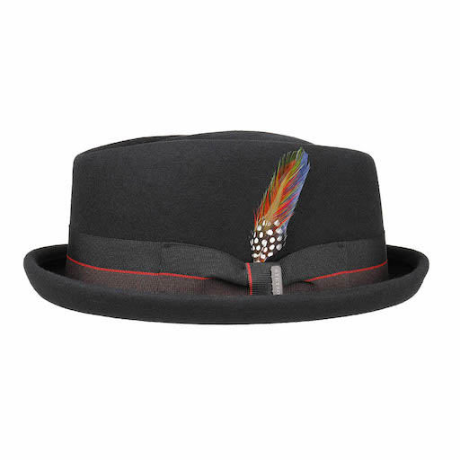 Stetson Diamond Woolfelt Black