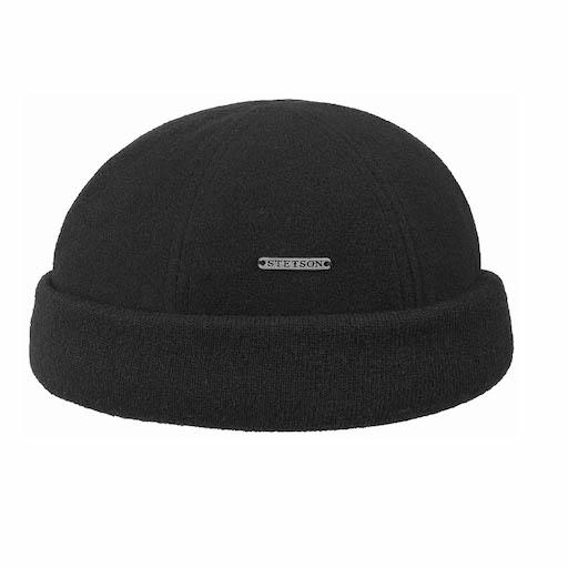 Stetson Docker Cap Sparr Black