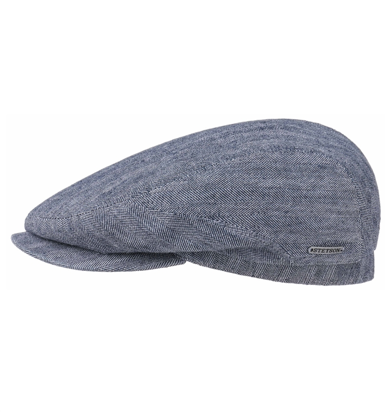 Stetson Driver Cap Cotton Linen Grey