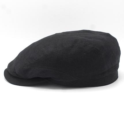 Stetson Driver Cap Linen Black