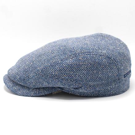 Stetson Driver Cap Silk Blue