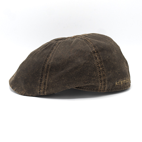 Stetson Duck Cap Waxed Cotton Brown