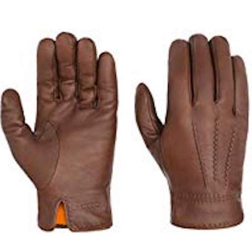 Stetson Gloves Goat Nappa Brown