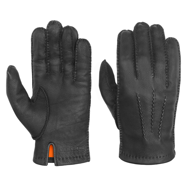 Stetson Gloves Deer Nappa Black