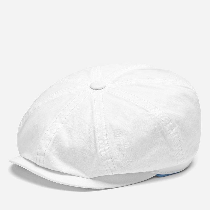 Stetson Hatteras Dyed Cotton White