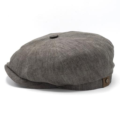Stetson Hatteras Linen Grey