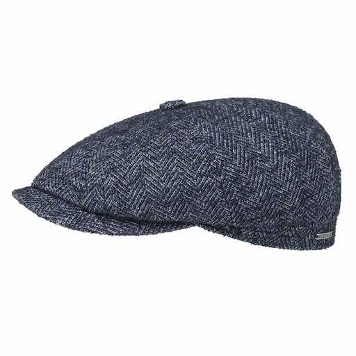 Stetson Hatteras Virgin Wool Blue
