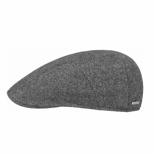 Stetson Ivy Cap Wool Grey