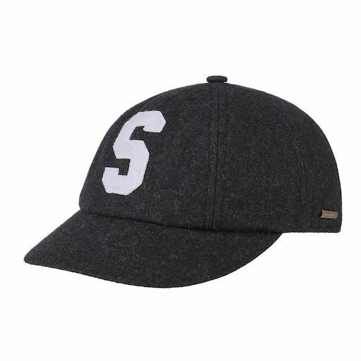Stetson Iconic S Wool Cap Antracit