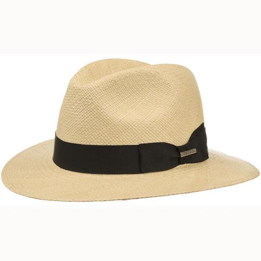 Stetson Marcellus Panama Traveller Natural