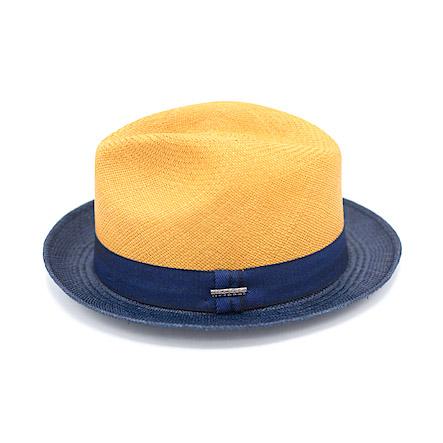 Stetson Panama Player Twotone Orange/Blue