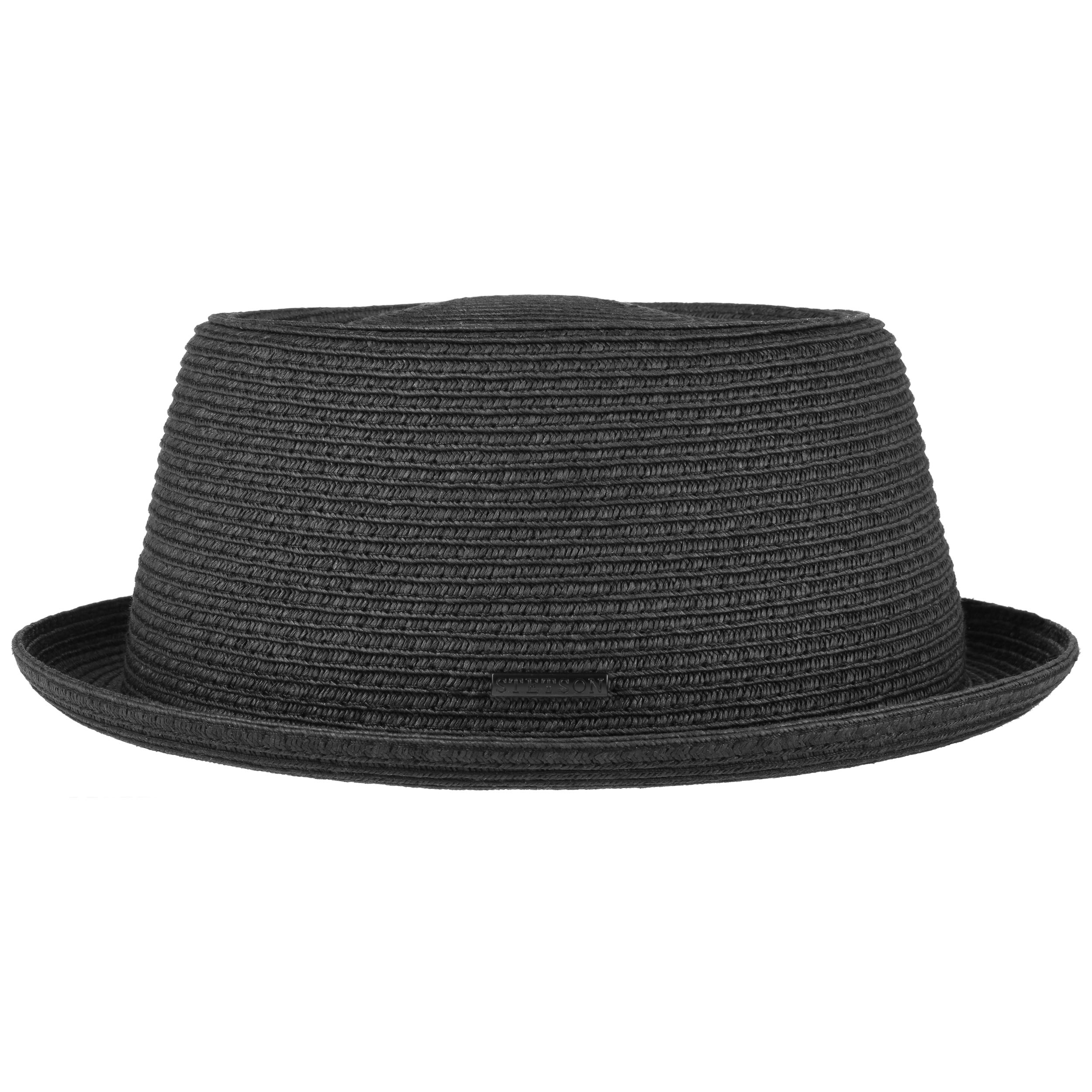 Stetson Pork Pie Toyo Black