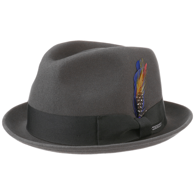 Stetson Player Woolfelt/Cashmere Grey
