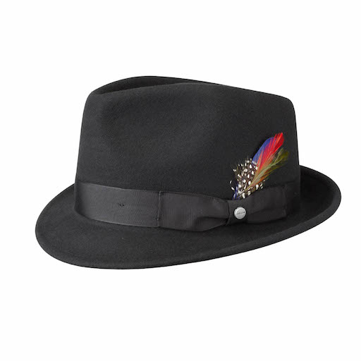 Stetson Richmond Woolfelt Black