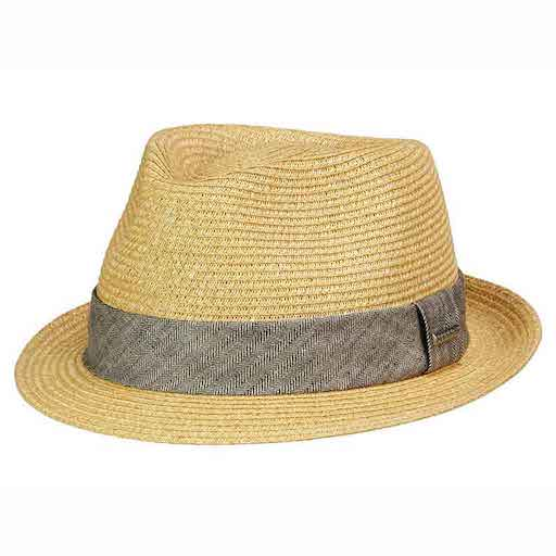 Stetson Toyo Trilby Natur/grey