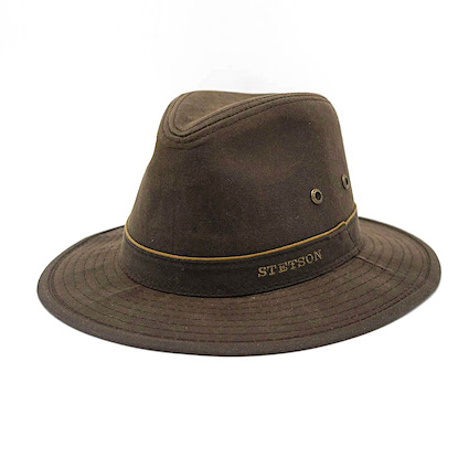 Stetson Traveller Ava Waxed Brown