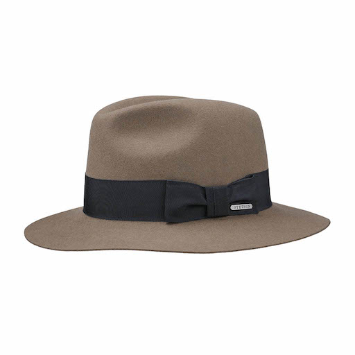 Stetson Traveller Furfelt Brown / black