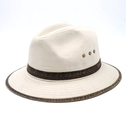 Stetson Traveller Cotton Beige