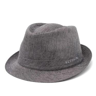 Stetson Trilby Linen Grey