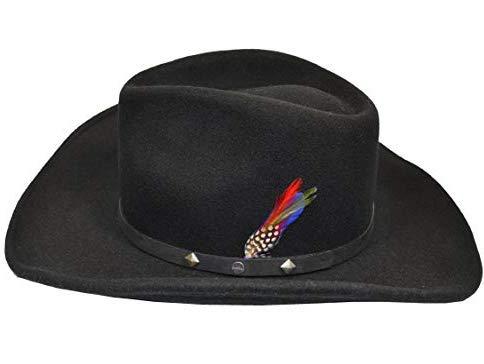 Stetson Western Wool Black