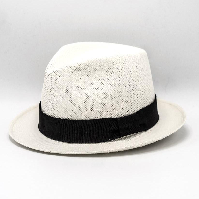 Vintimilla Panama New Trilby White/Black