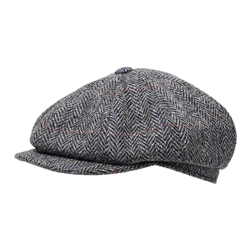 Wigéns Newsboy Cap Vintage Harrris Tweed