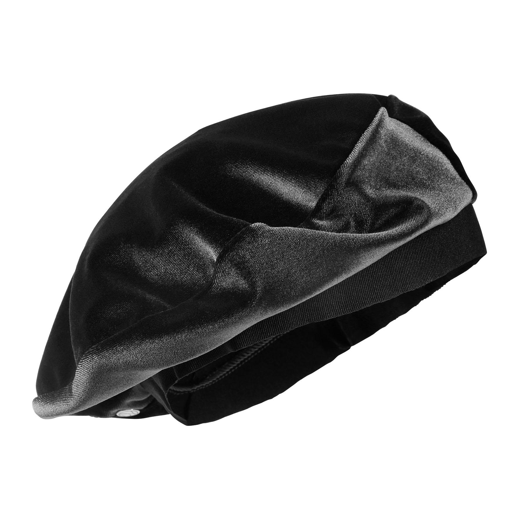 Laulhère Beret Velours Black