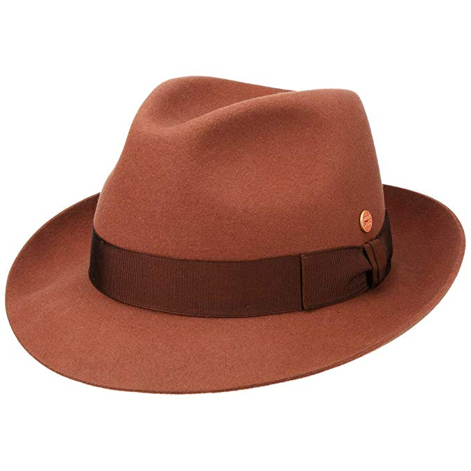 Mayser City Fedora Rust