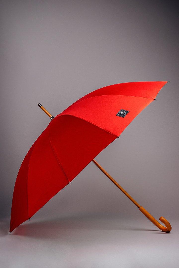 Rain & Son Klassisk Paraply Rött