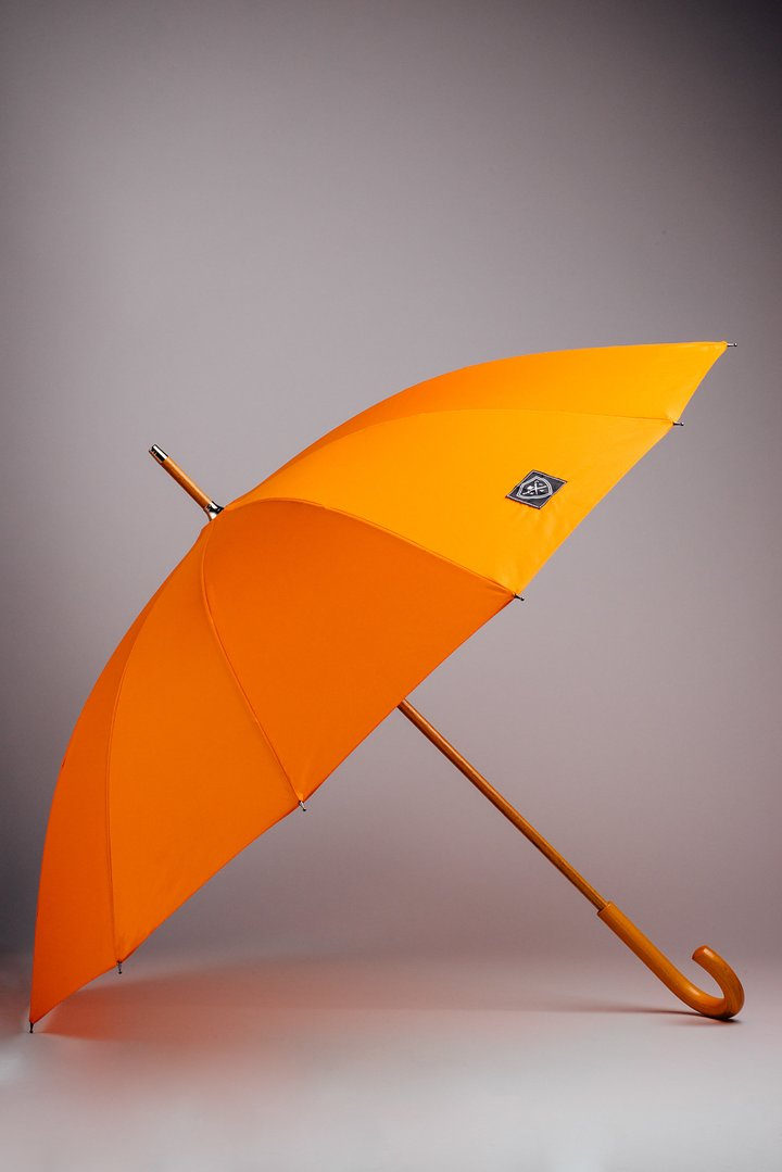 Rain & Son Klassiskt Paraply Orange