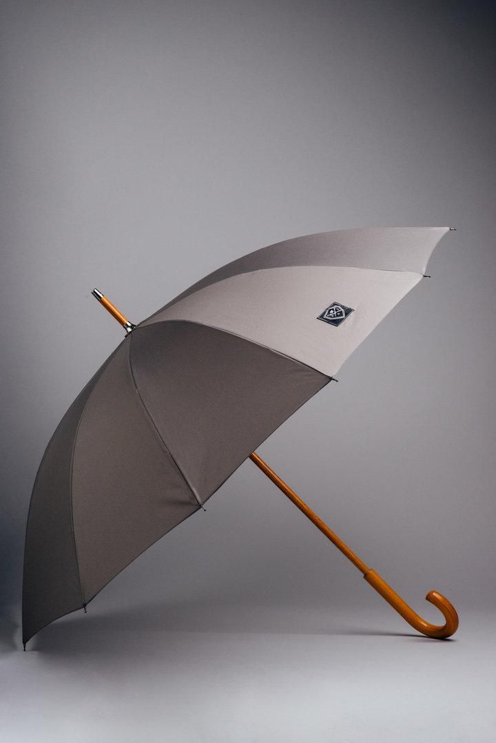 Rain & Son Klassiskt Paraply Grått