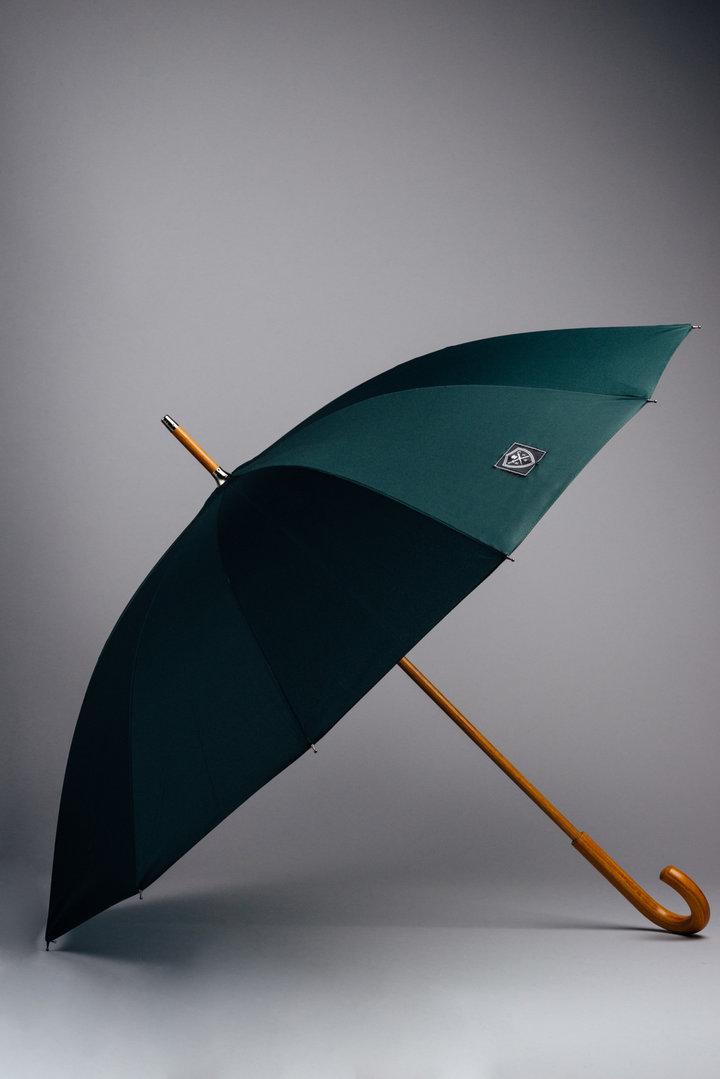Rain & Son Klassiskt Paraply Mörkgrönt