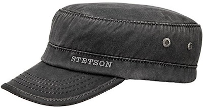 Stetson Winter Army Cap Black