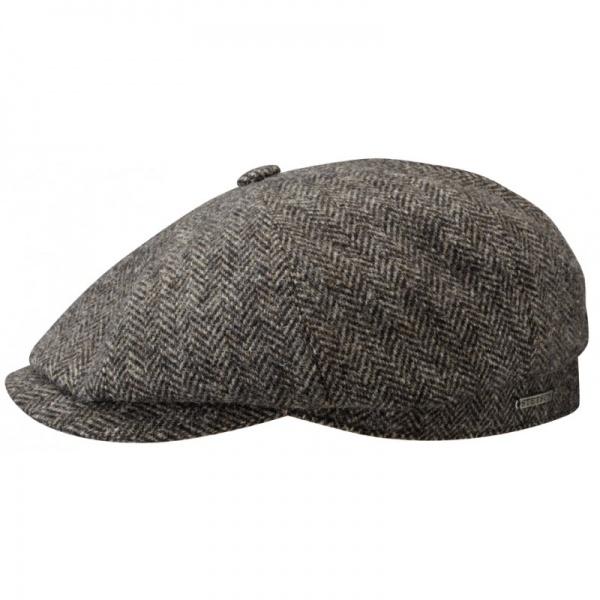 Stetson Hatteras Woolrich Herringbone Grey