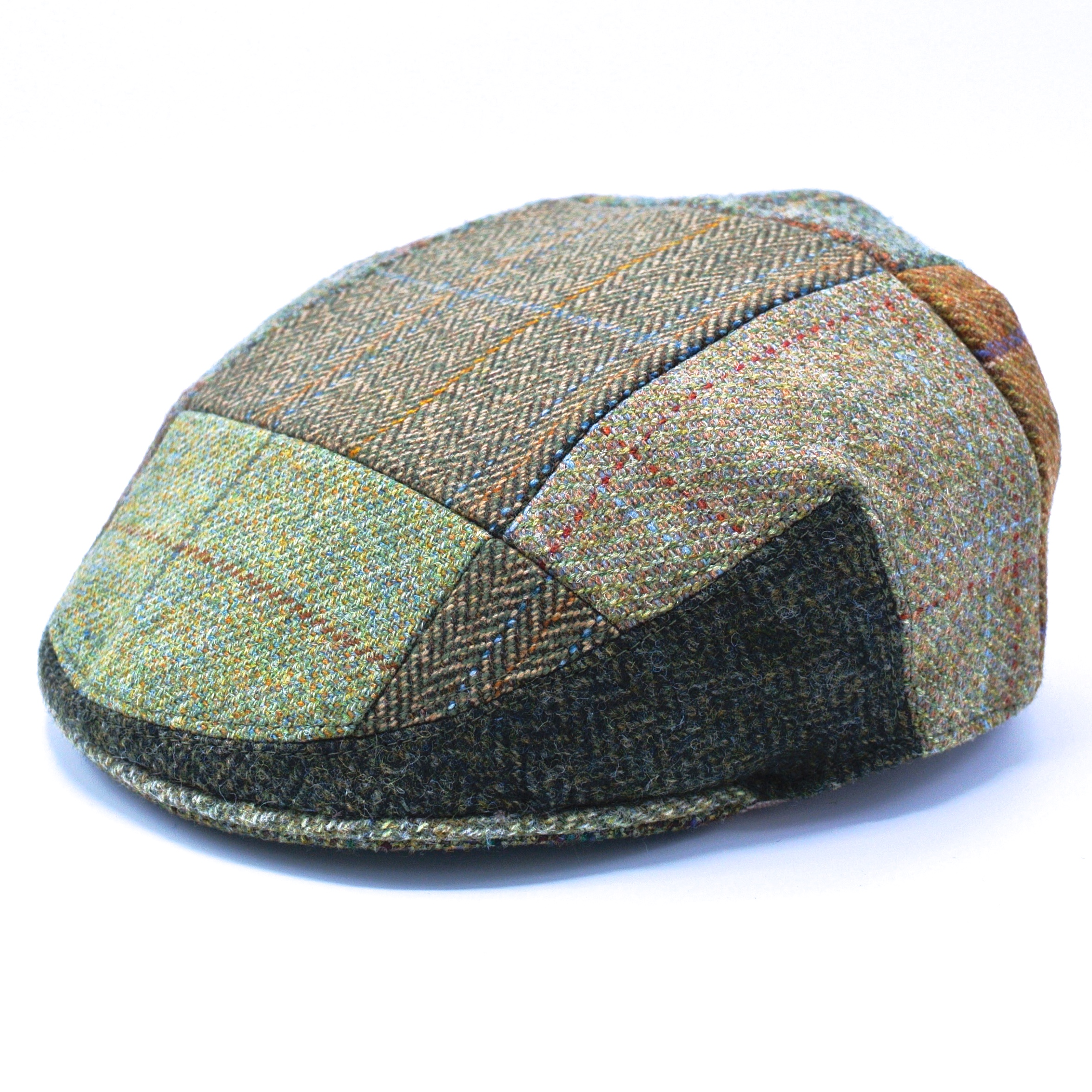 Lawrence and Foster Flat Cap Mönstrad